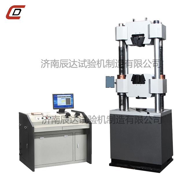 WEW-300B微机屏显式触摸屏控制液压万能试验机