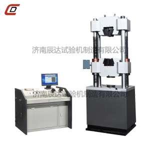 WEW-600B微机屏显式触摸屏控制液压万能试验机
